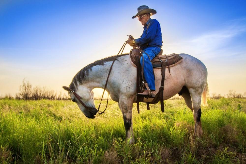 Bobby Daniel, Waggoner Ranch cowboy 1965-2016