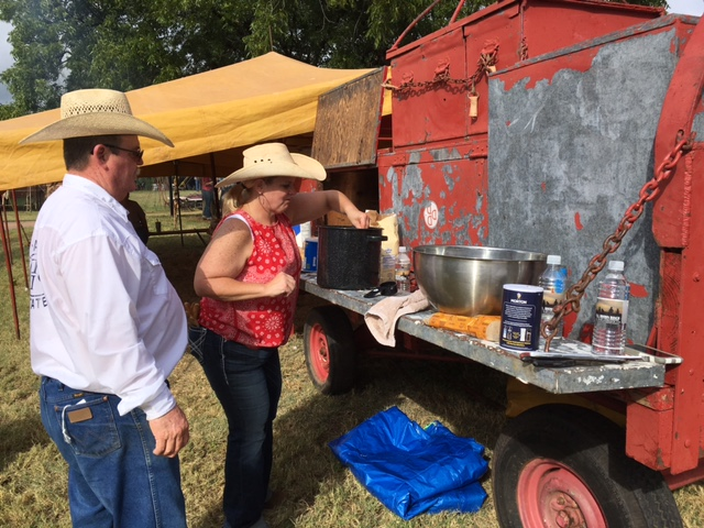 Another favorite part of the event took place at the waggoner ranch