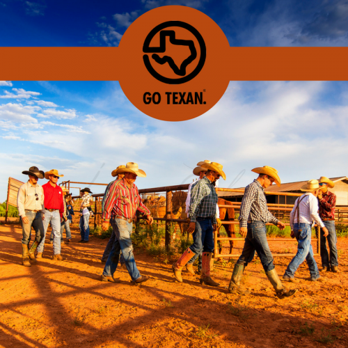 GO TEXAN this Christmas when you order Cowboys of the Waggoner Ranch