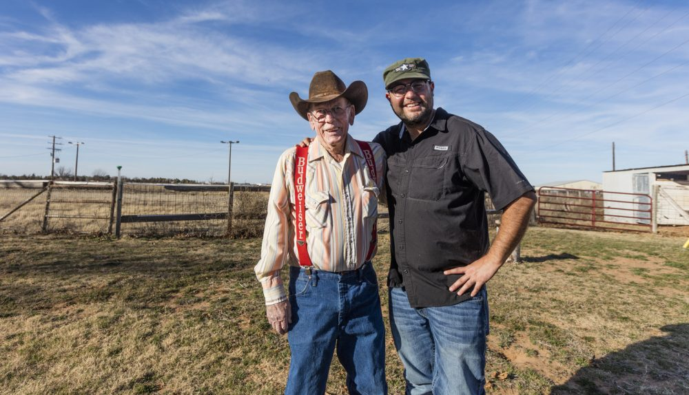 Bobby Daniel cowboyed on the Waggoner Ranch for more than 50 years