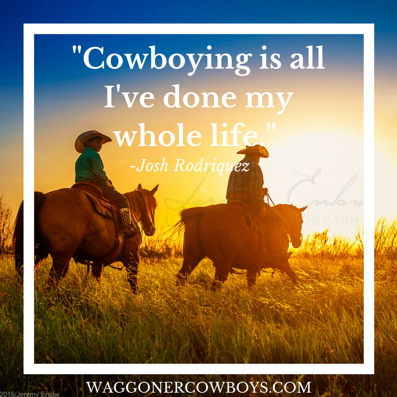 Cowboying Is All Ive Done My Whole Life Cowboys Of Waggoner Ranch